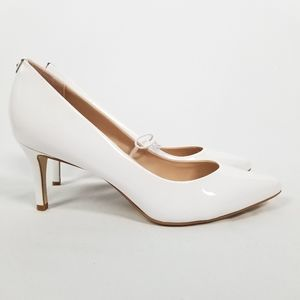 kate spade Vida Patent Leather White Pump NWOT